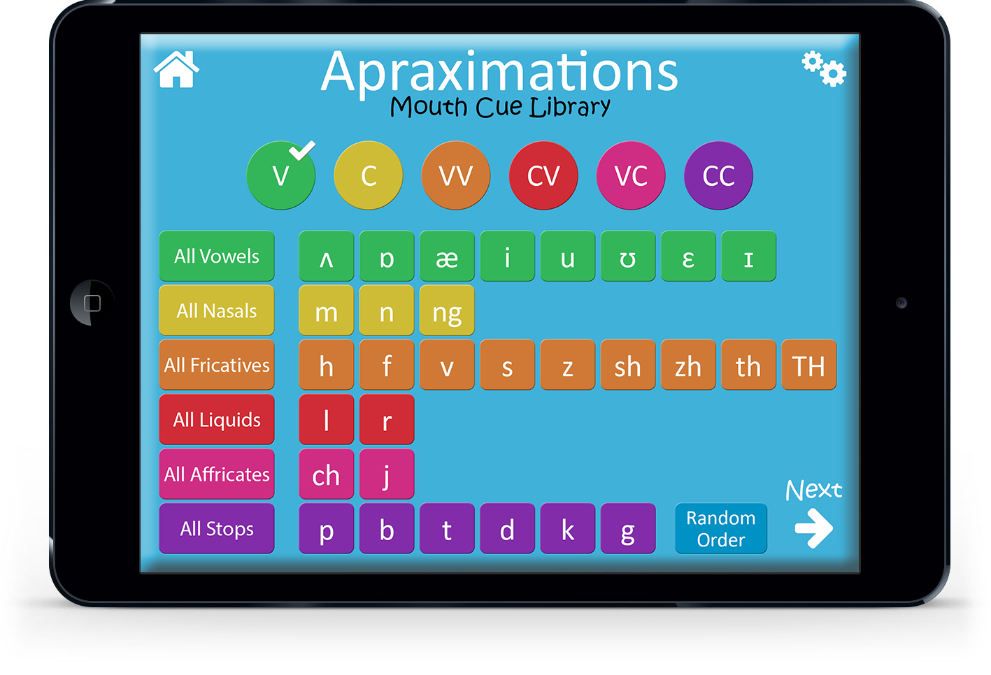 Apraxia App Library